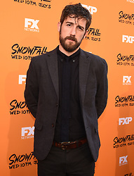 LOS ANGELES - JUNE 26: Carter Hudson attends FX Networks and FX Productions Premiere event for 'Snowfall' at The Theatre at the Ace Hotel on June 26, 2017 in Los Angeles, California. (Photo by Frank Micelotta//FX/PictureGroup) *** Please Use Credit from Credit Field ***