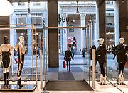 Milan, LIU-JO main store in central Milan