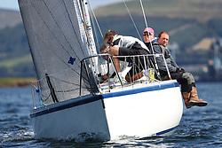 Peelport Clydeport, Largs Regatta Week 2014 Largs Sailing Club based at  Largs Yacht Haven,<br /> <br /> GBR7029, Farr e Nuff, John Kent, LSC/FYC, Farr 727