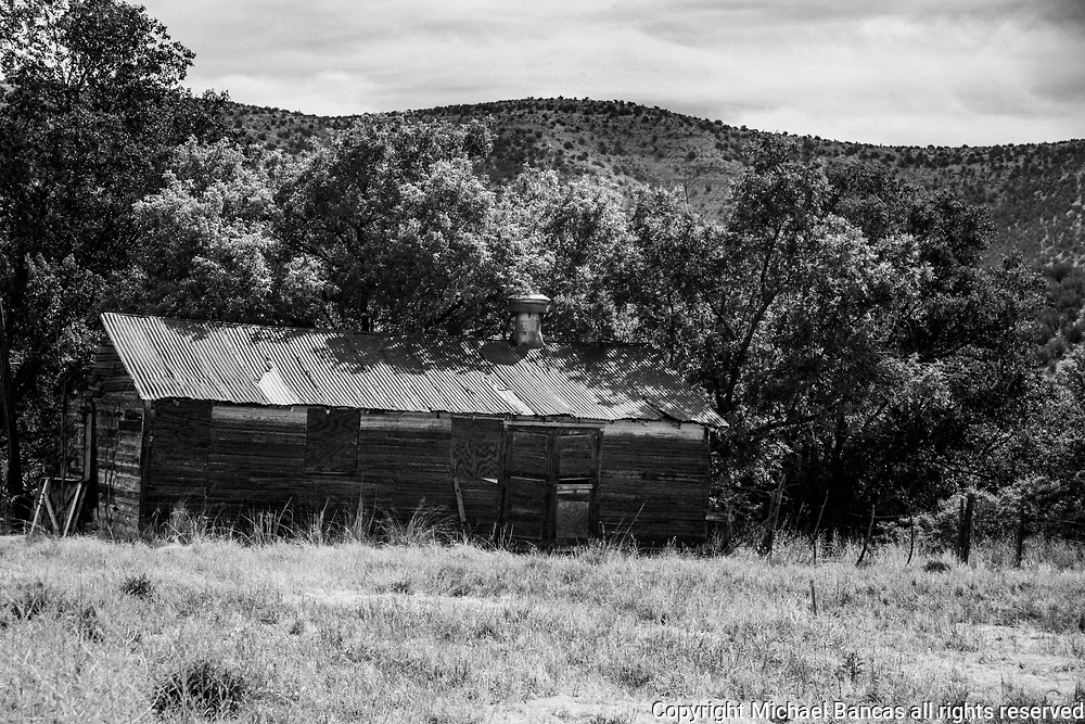 Old barn in Lincoln cCounty New Mexico