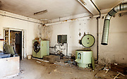 abandoned building, <br />  old laundry