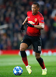 Manchester United's Anthony Martial in action during the UEFA Champions League, Group H match at Old Trafford, Manchester.