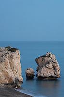 Aphrodites Rock, Petra tou Romiou, Pissouri Bay, near Paphos, Cyprus