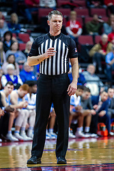 NORMAL, IL - February 08: Gene Grimshaw during a college basketball game between the ISU Redbirds and the Indiana State Sycamores on February 08 2020 at Redbird Arena in Normal, IL. (Photo by Alan Look)