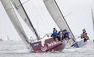 Toe in the Water Too, racing in IRC class 0 during Aberdeen Asset Management Cowes Week. <br /> Picture date Tuesday 5th August, 2014.<br /> Picture by Christopher Ison. Contact +447544 044177 chris@christopherison.com