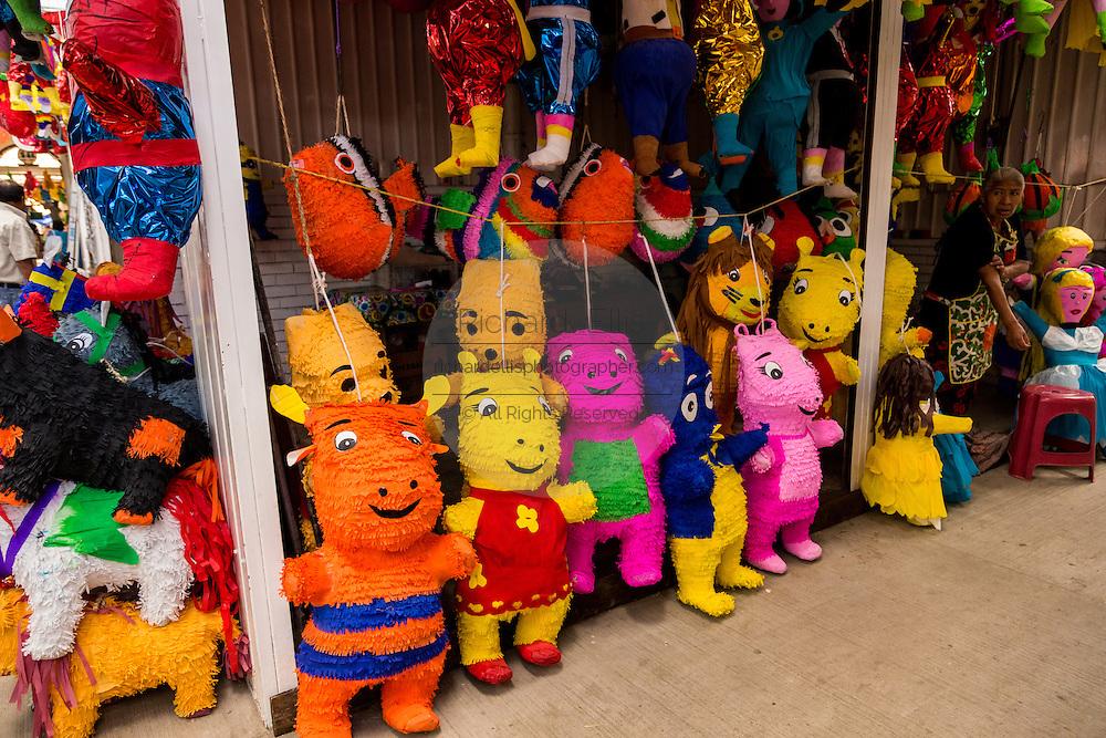 Piñata for sale in Oaxaca, Mexico.