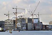 Nederland, Amsterdam, 22-10-2011Bouw op het westerdokseiland.Foto: Flip Franssen/Hollandse Hoogte