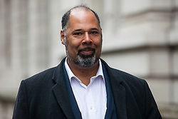 London, UK. 9th April 2019. David Kurten, UKIP London Assembly Member, arrives  arrives to attend a 'No Delay, No Capitulation – NO DEAL' rally in Westminster organised by the pro-Brexit Bruges Group. Mark Francois MP, Deputy Chairman of the European Research Group (ERG), Andrew Bridgen, Conservative MP for North West Leicestershire, and Anne Marie Morris, Conservative MP for Newton Abbot, spoke at the event.