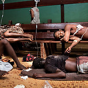 Tuesday 5th December, at the general hospital of Bangui, dozens of people are brought to the hospital to get treated. <br /> The Seleka control the hospital and try to prevent the Christian to be treated.