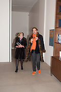 Mandala for Crusoe, Exhibition of work by Francesco Clemente. Blain/Southern. Hanover Sq. London. 29 November 2012