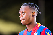 Crystal Palace #29 Aaron Wan-Bissaka after the Premier League match between Crystal Palace and Tottenham Hotspur at Selhurst Park, London, England on 25 February 2018. Picture by Sebastian Frej.