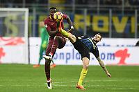 Antonio Rudiger, Marcelo Brozovic<br /> Milano 26-02-2017 Football Calcio serie A 2016/2017 Inter - AS Roma foto Image Sport/Insidefoto