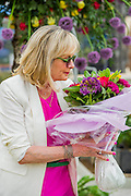 Twiggy on Marks and Spencer. The Chelsea Flower Show 2014. The Royal Hospital, Chelsea, London, UK.  19 May 2014.