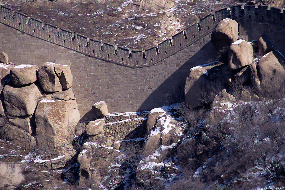 Great Wall of China, Northern China, 5th Century BC, Ming Dynasty, Southern edge of Inner Mongolia, China, PRC, Northern borders of Chinese Empire