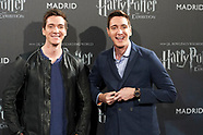 1111617 James And Oliver Phelps Visit Harry Potter: The Exhibition