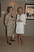 Princess Marie-Chantal of Greece and Alison Vaissiere, Private Preview of the Grosvenor House Art and Antiques Fair. 13 June 2007.  -DO NOT ARCHIVE-© Copyright Photograph by Dafydd Jones. 248 Clapham Rd. London SW9 0PZ. Tel 0207 820 0771. www.dafjones.com.