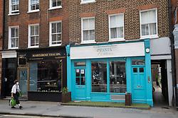 London, UK. 29th May, 2021. Pasta della Nonna, a fresh artisan pasta workshop, restaurant and cocktail bar in Paddington Street, Marylebone.