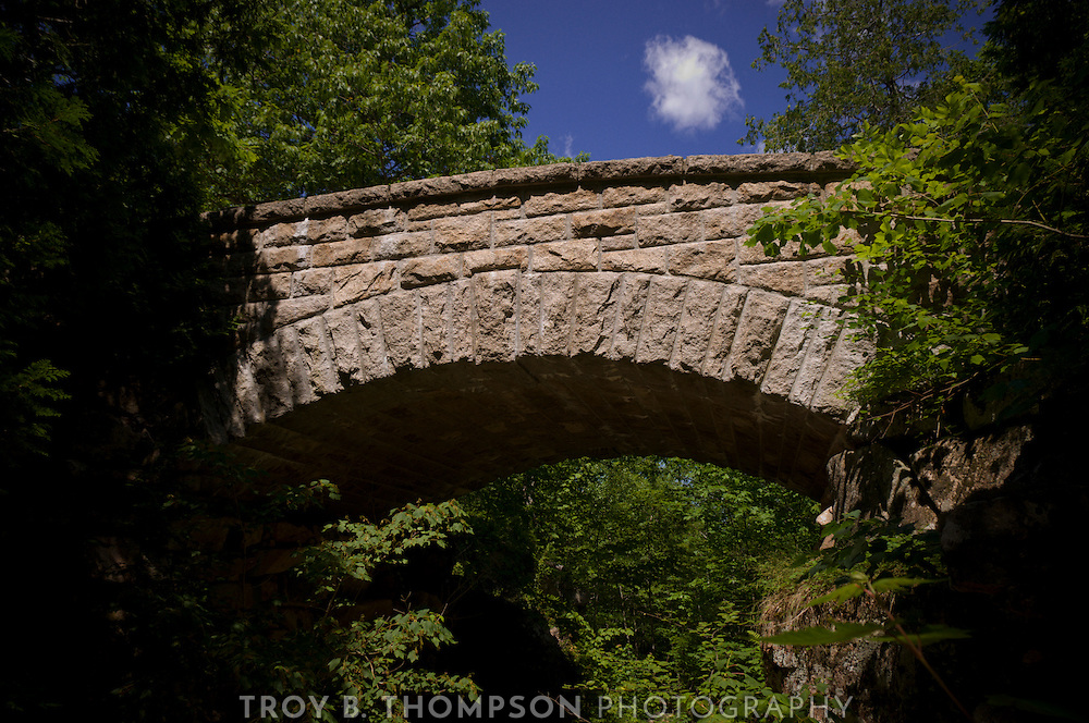 Chasm Brook Bridge.Carriage Road 10/12