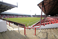 a general view of Griffin Park . Skybet football league one match , Brentford v Bradford City at Griffin Park in Brentford, London  on Saturday 8th March 2014.<br /> pic by John Fletcher, Andrew Orchard sports photography.
