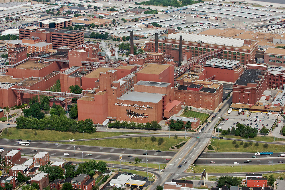 Anheuser-Busch in St. Louis, Missouri. Opened in 1852, St. Louis is Anheuser-Busch's flagship brewery and the headquarters of Anheuser-Busch.