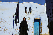 Hajja Fawzia in her home in Seheil Island