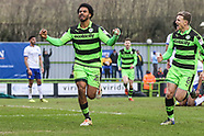 Forest Green Rovers v Mansfield Town 240318