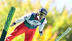 08.10.2010, Paul Ausserleitner Schanze, Bischofshofen, AUT, Österreichische Staatsmeisterschaften Skispringen, im Bild DAvid Zauner, EXPA Pictures © 2010, PhotoCredit: EXPA/ J. Feichter