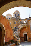 Agia Triada Monastery or the Monastery of Agia Triada Tsangarolon is a Greek Orthodox monastery in the Akrotiri peninsula in the Chania regional unit, Crete, Greece.