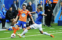 Fotball, 24 August 2014, Tippeligaen, Eliteserien, Molde - Aalesund, Foto: Marius Simensen, Digitalsport, Per Egil Flo, Torbjørn Grytten