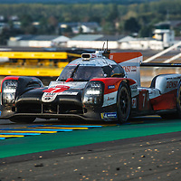 #7, Toyota TS050 Hybrid, Toyota Gazoo Racing, drivers: M. Conway, K. Kobayashi, J.-M. Lopez, LMP1, Le Mans 24H 2020, on 20/09/2020