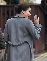 The Duchess of Sussex visits the Royal Variety Charity's residential nursing and care home Brinsworth House, London. Picture Credit Should Read: Doug Peters/EMPICS