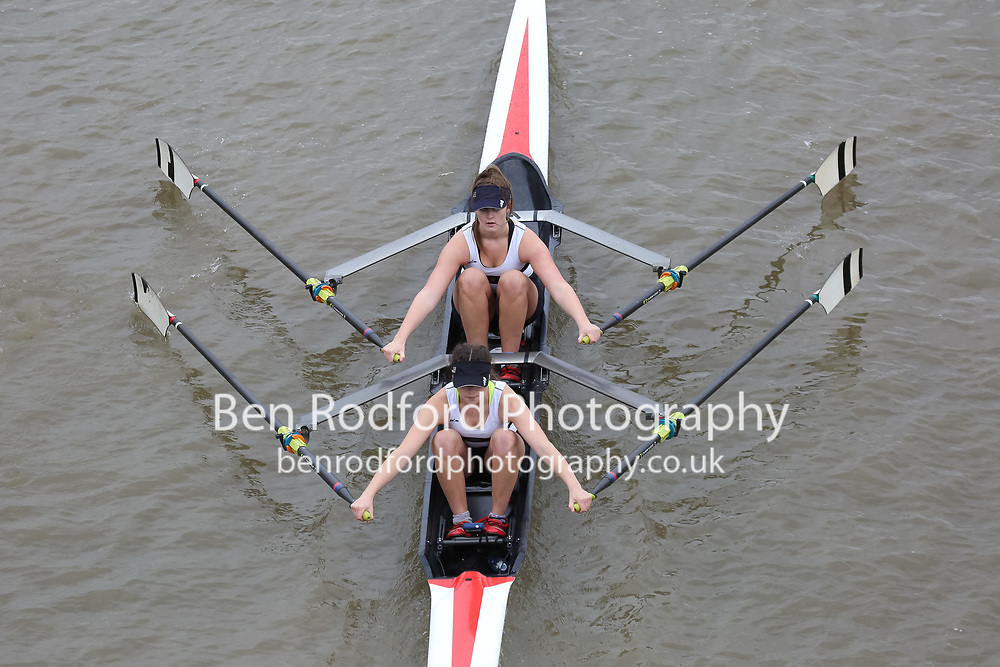 Crew: 340   LLA-WATERS    Llandaff Rowing Club    W J18 2x Club <br /> <br /> Pairs Head 2017<br /> <br /> To purchase this photo, or to see pricing information for Prints and Downloads, click the blue 'Add to Cart' button at the top-right of the page.