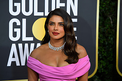 January 5, 2020, Beverly Hills, California, USA: PRIYANKA CHOPRA during red carpet arrivals for the 77th Annual Golden Globe Awards, at The Beverly Hilton Hotel. (Credit Image: © Kevin Sullivan via ZUMA Wire)