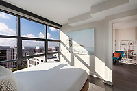 Architectural interior image of Highline at Union Market Apartments in Washington DC by Jeffrey Sauers of CPI Productions