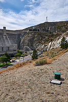 Grand Coulee Dam Panorama. Seven of seven images taken with a Nikon D300 camera and 18-200 mm VR lens (ISO 200, 18 mm, f/11, 1/500 sec). Raw images processed with Capture One Pro, Photoshop and CC, NIK Color Efex. Panorama created using AutoPano Pro.