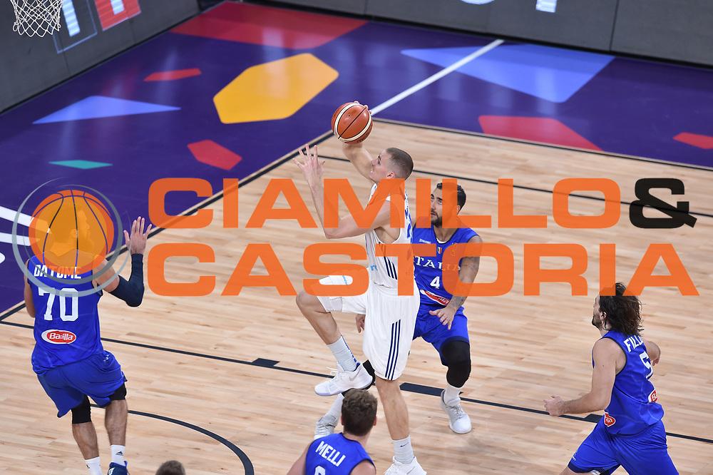 Eurobasket 2017 - Final Phase - Round of 16<br /> Finland Italy Finlandia Italia<br /> FIP 2017<br /> Istanbul, 09/09/2017<br /> Foto G.Ciamillo / Ciamillo - Castoria