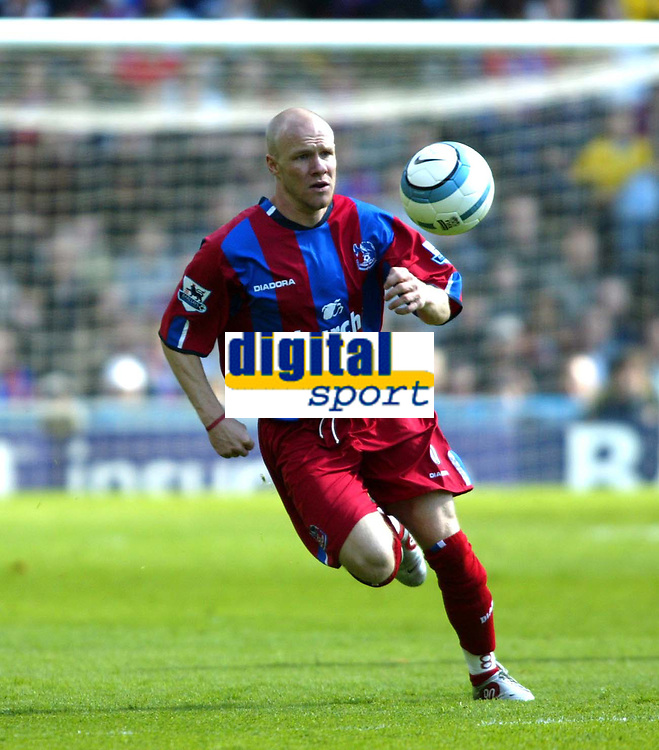 Fotball<br /> England 2004/2005<br /> Foto: SBI/Digitalsport<br /> NORWAY ONLY<br /> <br /> Crystal Palace v Southampton. Barclays Premiership. 07/05/2005<br /> <br /> How long will Andy Johnson be at Palace?