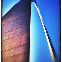 """The Gateway Arch in St. Louis, Missouri. iPhone photo - suitable for print reproduction up to 8"""" x 12""""."""