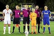 *** during the EFL Sky Bet League 1 match between AFC Wimbledon and Milton Keynes Dons at the Cherry Red Records Stadium, Kingston, England on 22 September 2017. Photo by Matthew Redman.