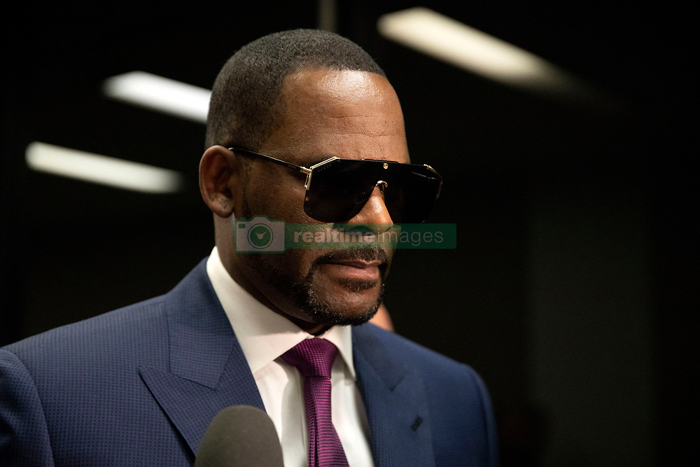 R&B superstar R. Kelly arrives at the Daley Center in Chicago, IL, USA, to attend a closed-door hearing in a court fight with his ex-wife over child support on Wednesday, March 13, 2019. Photo by Erin Hooley/Chicago Tribune/TNS/ABACAPRESS.COM