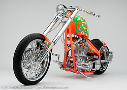 """""""Discovery Channel"""" custom bike built by Arlen Ness in Dublin, CA, October 13, 2004, photographed by Michael Lichter in Dublin, CA. ©2004 Michael Lichter"""