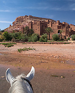 Fortified city of Ait Benhaddou, Atlas Mountains, Morocco