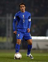 Fotball<br /> EM-kvalifisering<br /> Italia v Færøyene<br /> 21.11.2007<br /> Foto: Inside/Digitalsport<br /> NORWAY ONLY<br /> <br /> Fabio Cannavaro Italia