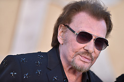 Johnny Hallyday attends the Christian Dior Cruise 2018 on May 11th, 2017 in Calabasas, California. Photo by ABACAPRESS.COM