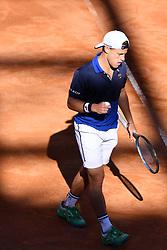 May 16, 2019 - Roma, Italia - Foto Alfredo Falcone - LaPresse.16/05/2019 Roma ( Italia).Sport Tennis.Internazionali BNL d'Italia 2019.Matteo Berettini (ita) vs Diego Schwartzman (arg).Nella foto:Diego Schwartzman..Photo Alfredo Falcone - LaPresse.16/05/2019 Roma (Italy).Sport Tennis.Internazionali BNL d'Italia 2019.Matteo Berettini (ita) vs Diego Schwartzman (arg).In the pic:Diego Schwartzman (Credit Image: © Alfredo Falcone/Lapresse via ZUMA Press)