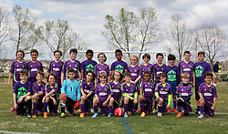 28 February 2016. Burbank Soccer Complex, Baton Rouge, Louisiana.<br /> New Orleans Jesters Junior Academy U10 Green teams combined.<br /> Photo©; Charlie Varley/varleypix.com
