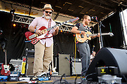 Old Lights performing at the LouFest Music Festival in St. Louis on August 28, 2011.