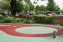 Special playground at school for children with physical and learning disabilities,