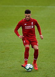 DERBY, ENGLAND - Friday, March 8, 2019: Liverpool's Alex Oxlade-Chamberlain during the FA Premier League 2 Division 1 match between Derby County FC Under-23's and Liverpool FC Under-23's at the Derby County FC Training Centre. (Pic by David Rawcliffe/Propaganda)