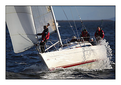 Tuesday Night Racing at Fairlie YC off Largs and Cumbrae